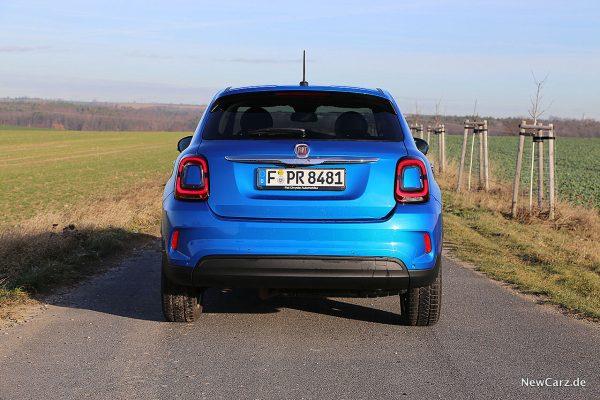 Fiat 500X Urban Heckansicht