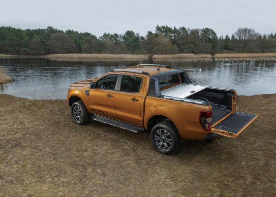 Ladefläche des Ford Ranger Pick-up