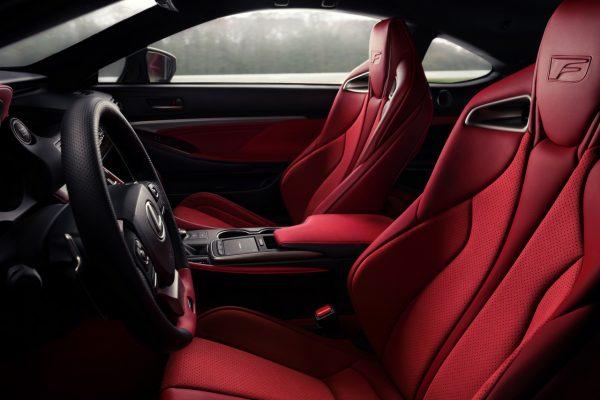 Lexus RC F Track Edition Interieur