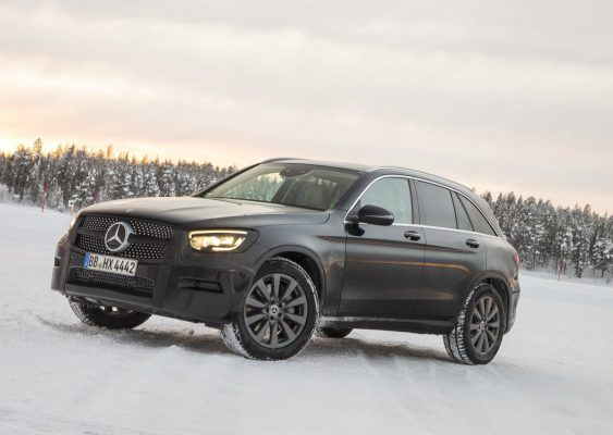 Seitenansicht des Mercedes-Benz GLC
