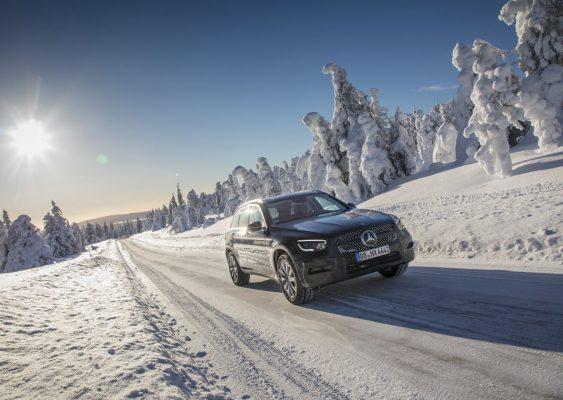Frontansicht des Mercedes-Benz GLC