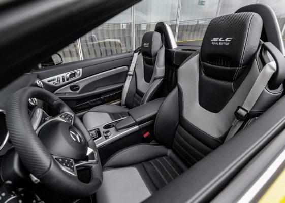 Interieur des Mercedes-Benz SLC