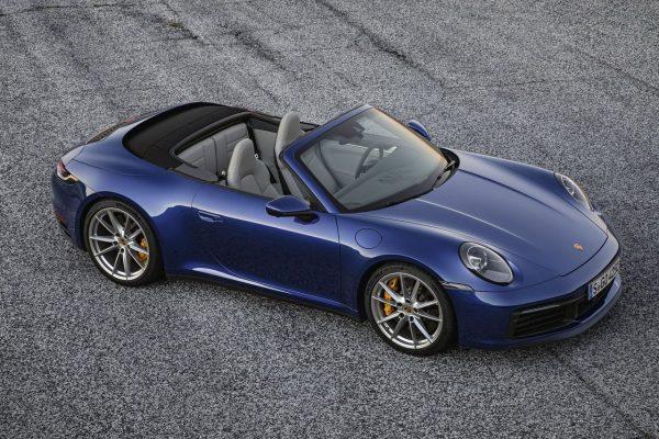 Porsche 911 Cabrio offen