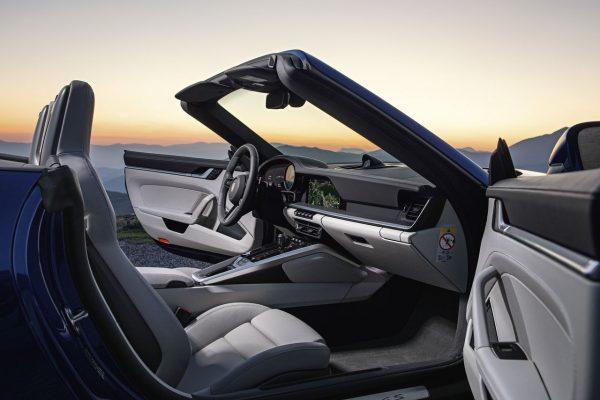 Porsche 911 Cabrio Armaturenbereich