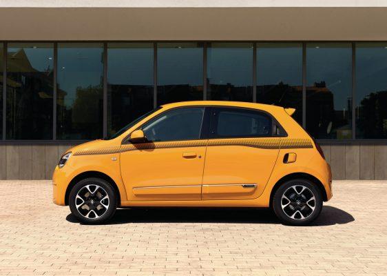 Seitenansicht des Renault Twingo