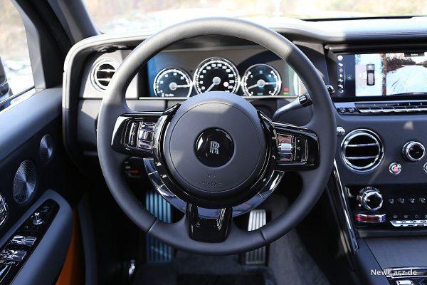 Rolls-Royce Cullinan Lenkrad