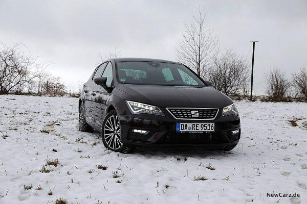 Seat Leon 2019 im Schnee