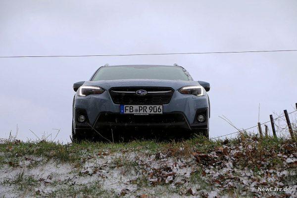 Subaru XV am Abhang