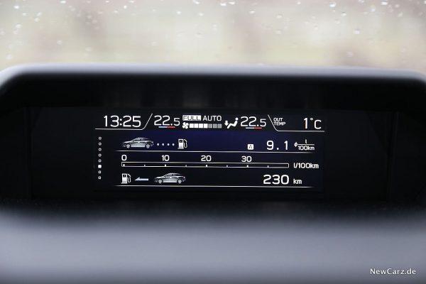 Subaru XV Verbrauch im Gelände