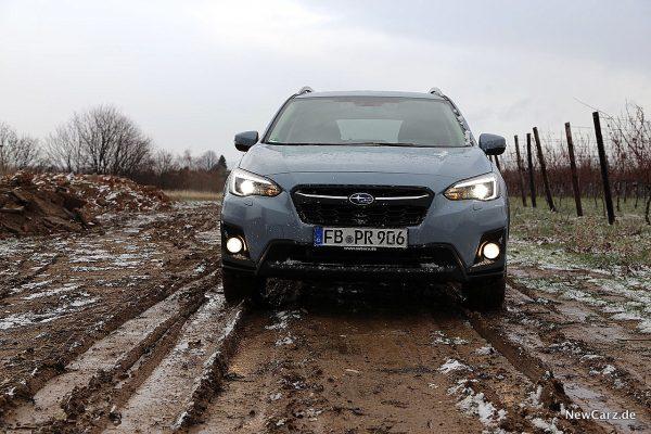 Subaru XV Front mit Licht