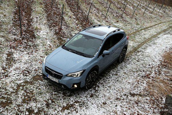 Subaru XV schräg oben