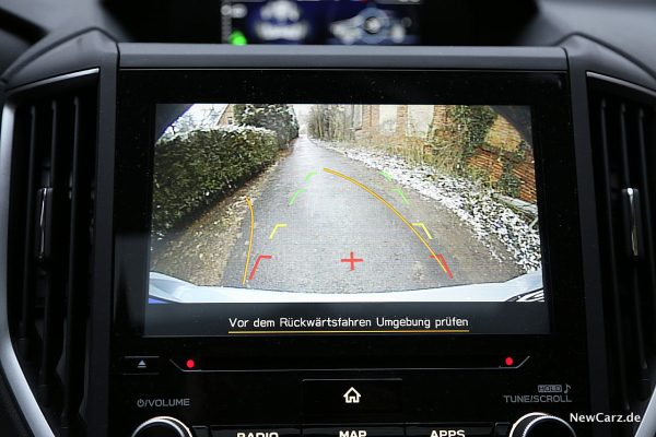 Subaru XV Rückfahrkamera
