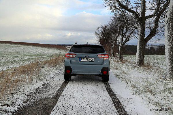 Subaru XV Heckansicht