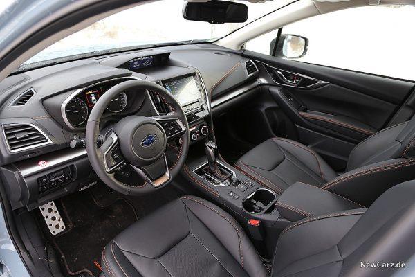 Subaru XV Vordersitze
