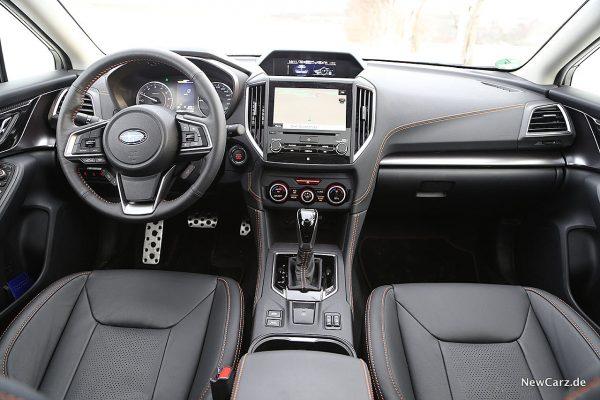 Subaru XV Instrumententafel