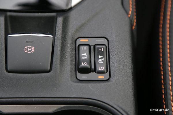 Subaru XV Sitzheizung