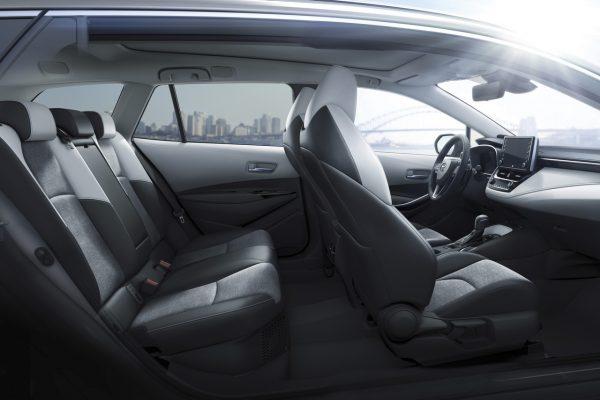 Toyota Corolla 2019 Sitzplätze