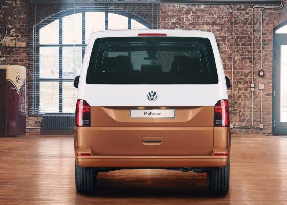 Heckansicht des VW T6.1