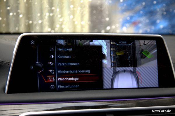 BMW 730d xDrive Waschanlagenansicht