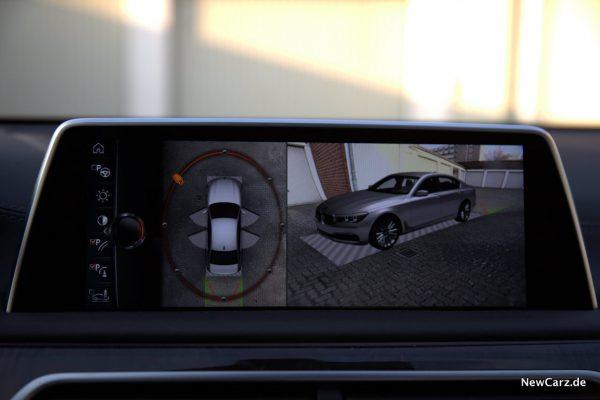 BMW 730d xDrive Bewegliche Kameraperspektive