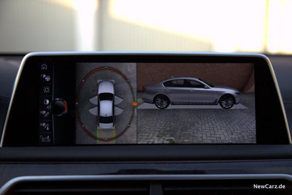 BMW 730d xDrive Türöffnungswinkel