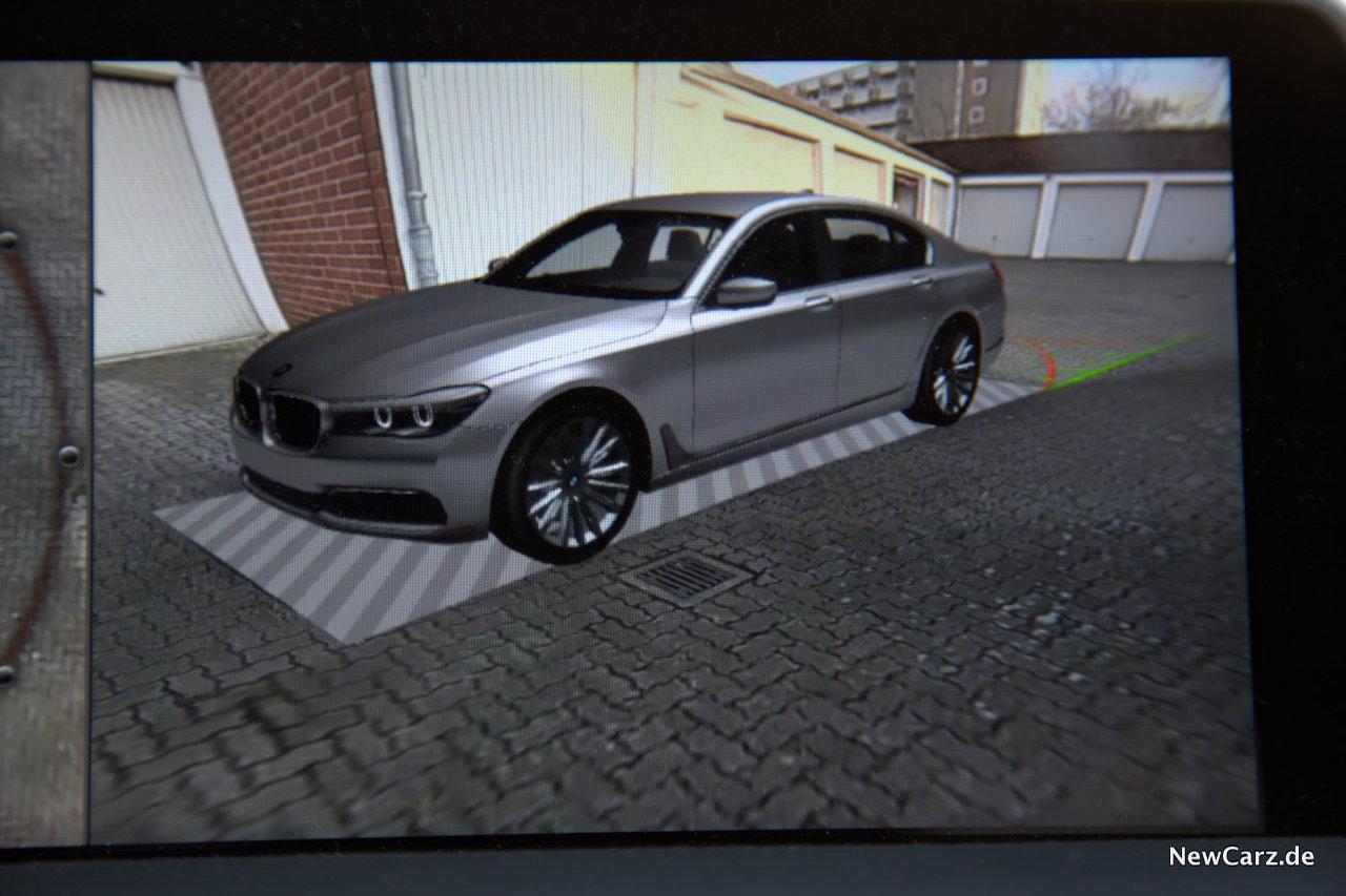 BMW 730d xDrive Parken Rangieren
