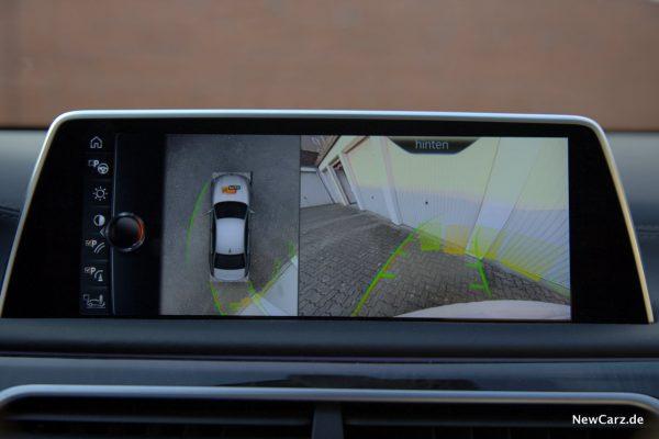 BMW 730d xDrive Bild Rückfahrkamera