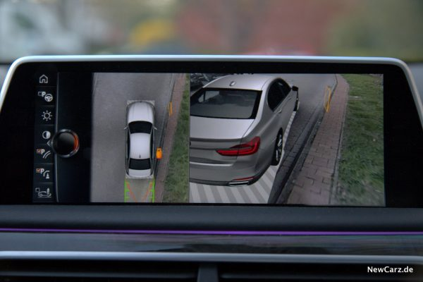 BMW 730d xDrive Flankenschutz Ansicht