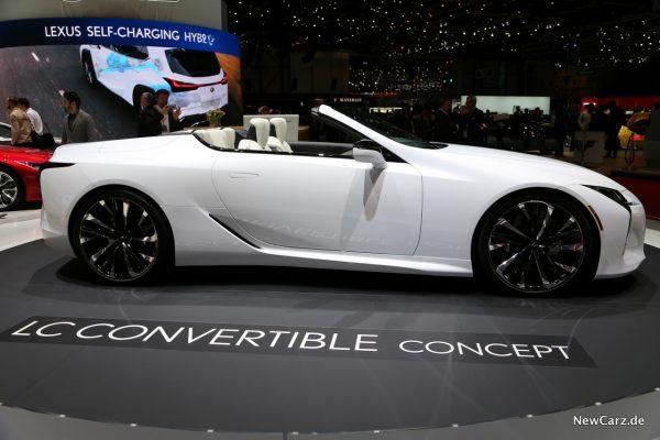 Lexus LC Convertible Concept Seite