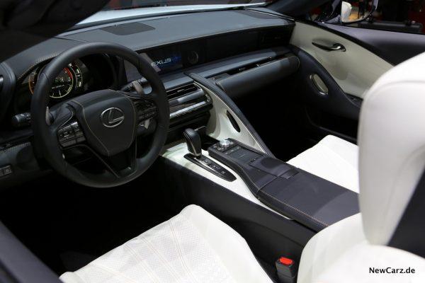 Lexus LC Convertible Concept Interieur