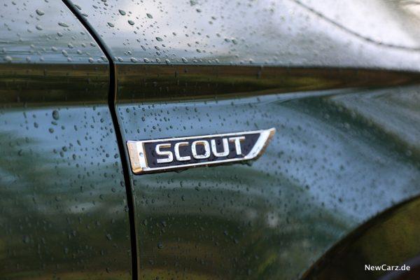 Skoda Karoq Scout Plakette