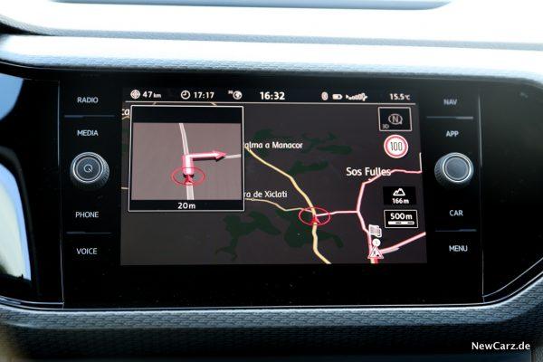 Volkswagen T-Cross Navigationssystem