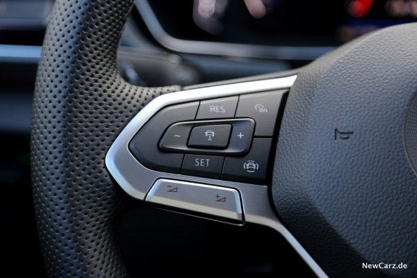 Volkswagen T-Cross Lenkradfernbedienung