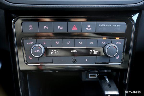 Volkswagen T-Cross Klimaautomatik