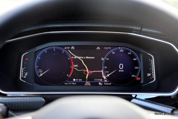 Volkswagen T-Cross Active Info Display