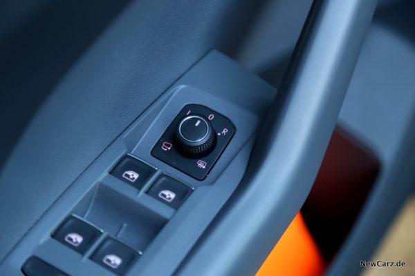 Volkswagen T-Cross elektrisch einklappbare Außenspiegel