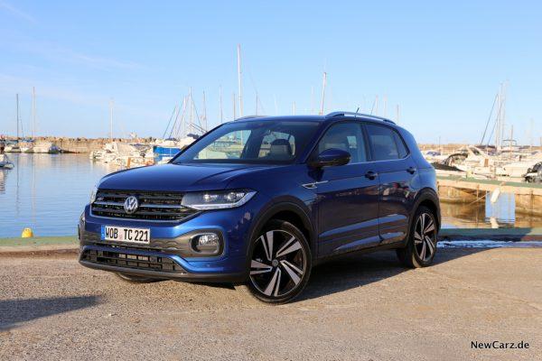 Volkswagen T-Cross Reef Blue