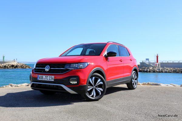 Volkswagen T-Cross rot Front Seite