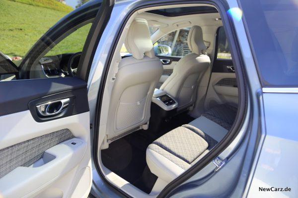 Volvo XC60 D3 Momentum Rücksitze
