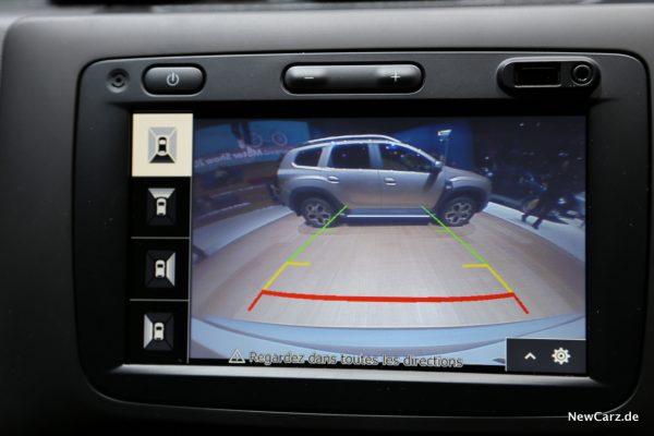 Dacia Duster Ultimate Rückfahrkamera