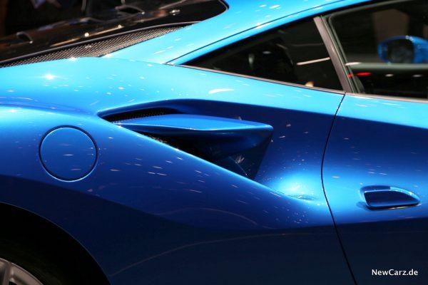Ferrari F8 Tributo Lufteinlässe