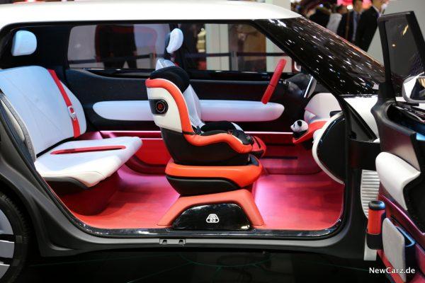 Fiat Concept Centoventi Innenraum