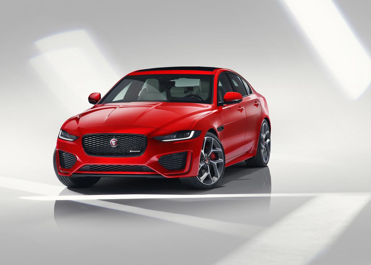 Frontansicht des neuen Jaguar XE