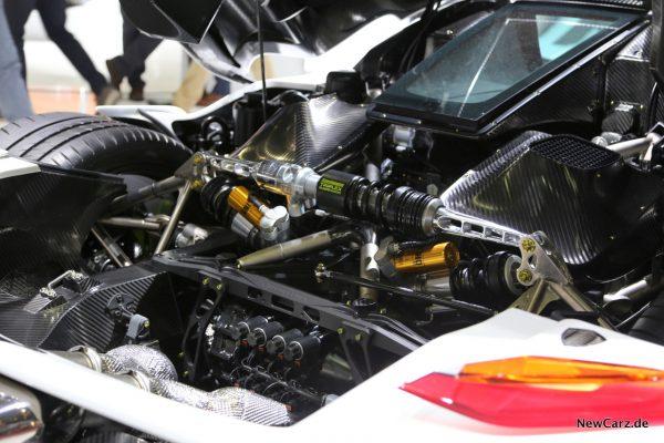 Koenigsegg Jesko Dämpfer hinten
