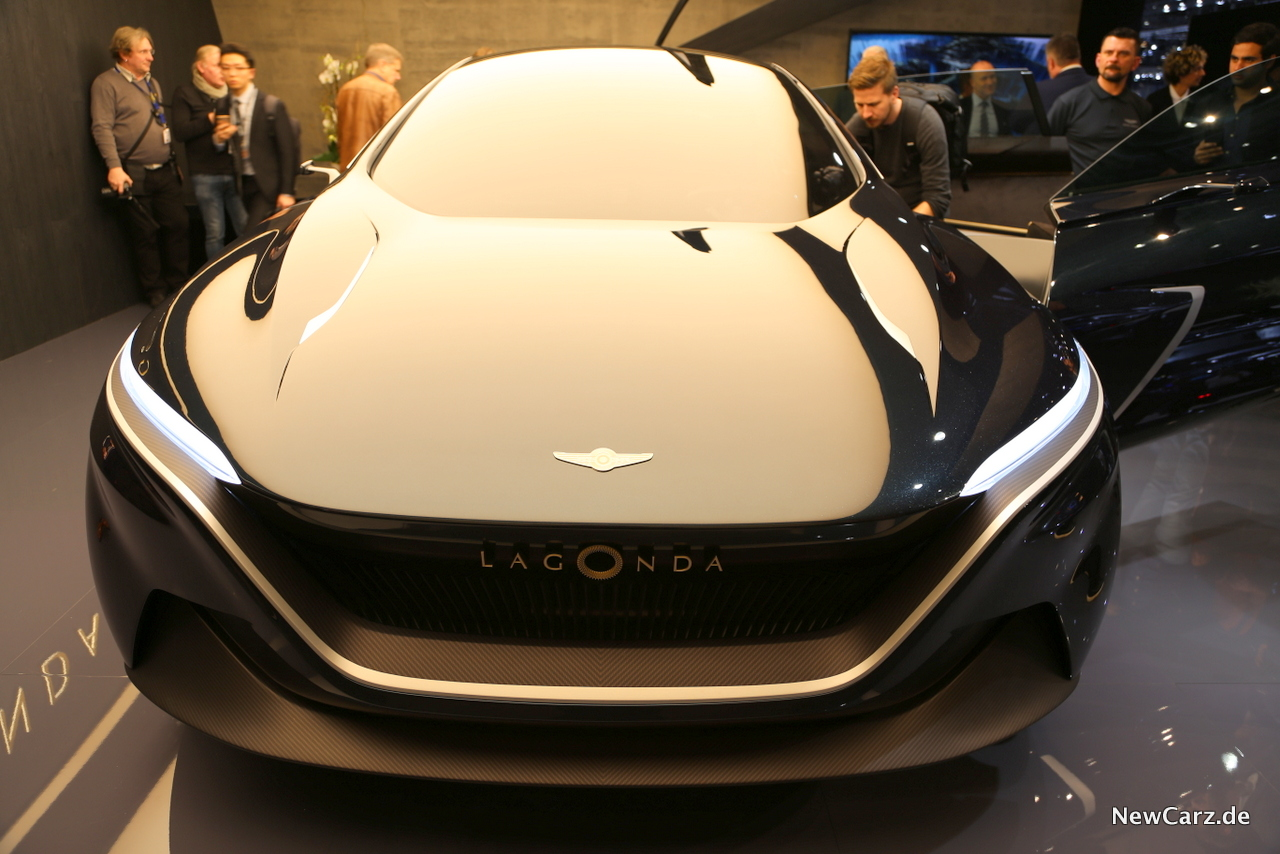 Aston Martin Lagonda Concept Die Wiederkehr Newcarz De