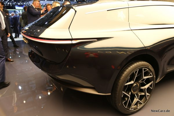 Aston Martin Lagonda Concept Heckbereich