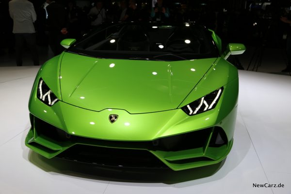 Lamborghini Huracan Spyder Front