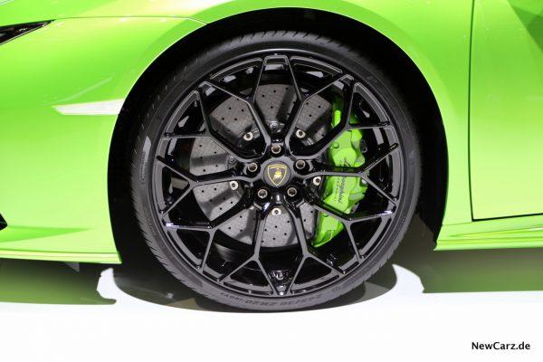 Lamborghini Huracan Spyder Vorderrad