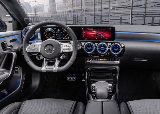Interieur des Mercedes-AMG A 35 4Matic