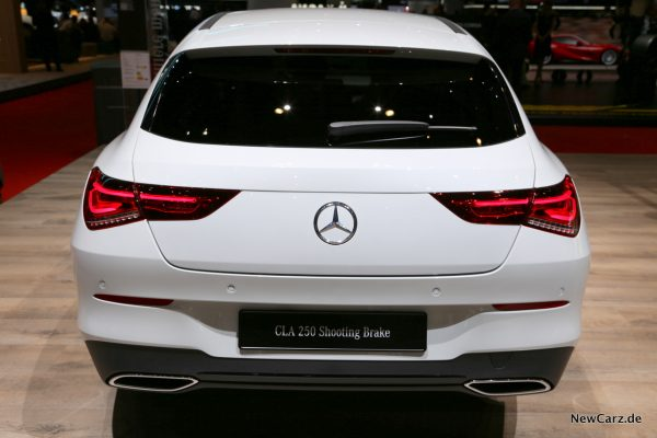 Mercedes-Benz CLA Shooting Brake Heck